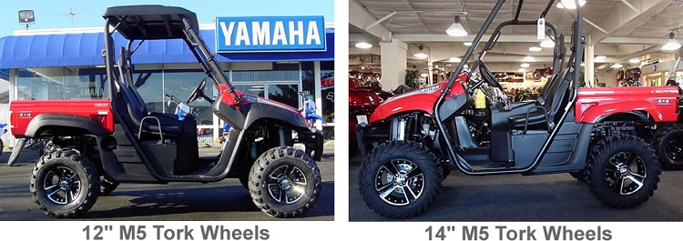 Buying Atv Wheels 12 Or 14 Rims