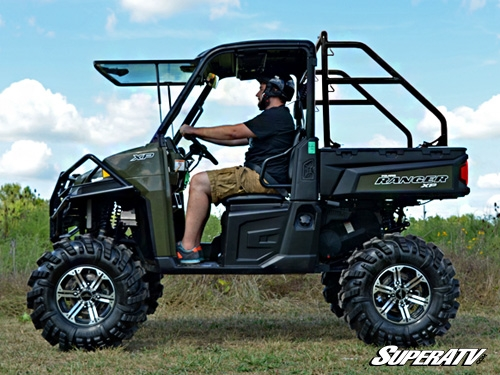 super atv rear roll cage support for polaris ranger. Black Bedroom Furniture Sets. Home Design Ideas