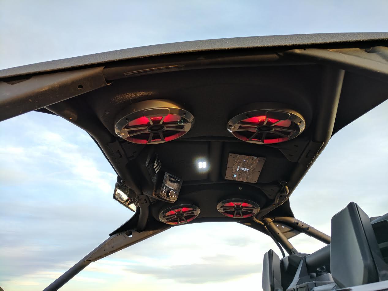 Honda Atv Tires Audioformz Stereo Top for Can Am Maverick X3