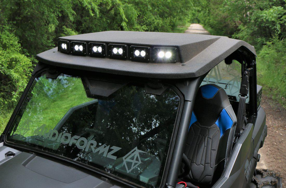 Polaris Roof Stereo Amp Attached Images