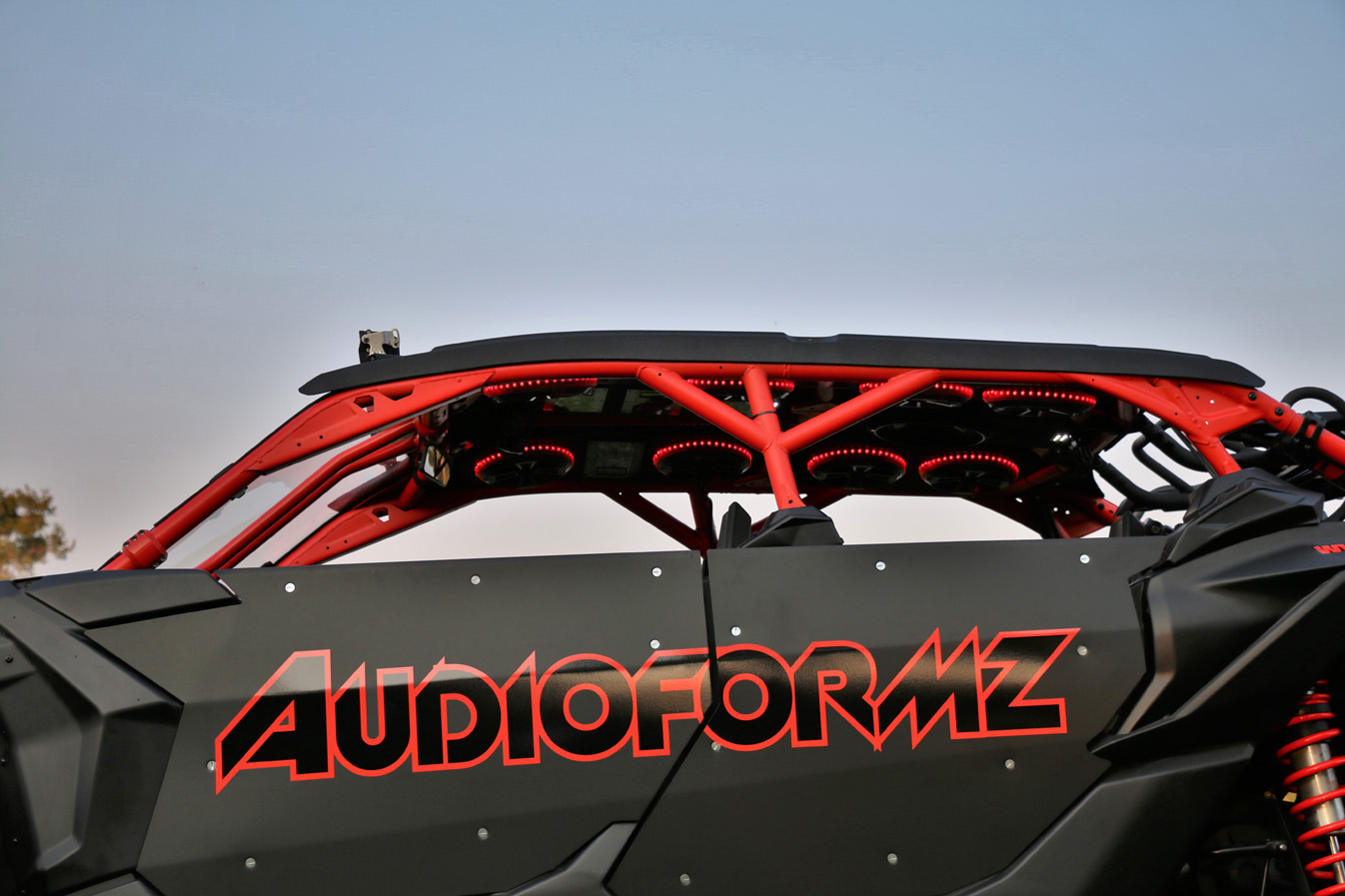 Audioformz Stereo Top For Can Am Maverick X3 Max