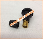 Black Rubber Valve Stems for ATV & UTV Wheels