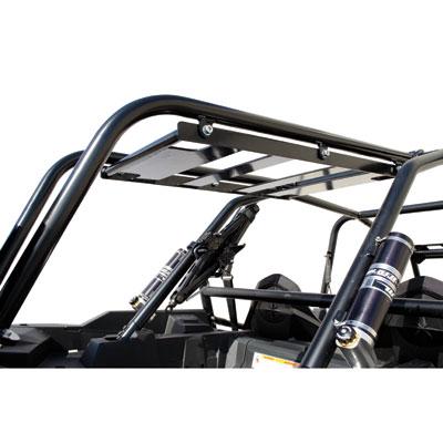 tusk rear bumper cargo rack  spare tire carrier  polaris rzr  models