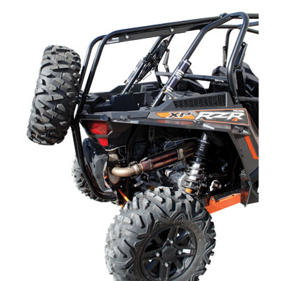 Tusk Rear Bumper Cargo Rack And Spare Tire Carrier For