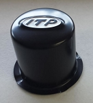 ITP Center Caps for Delta Steel Wheels, Black