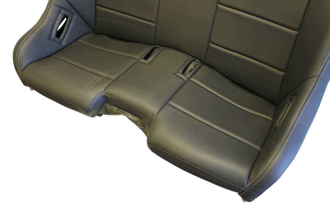 Dragonfire Racing Gt Bucket Bench Seat For Rzr Xp 1000