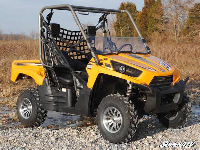 half windshield for the kawasaki teryx 750 by super atv. Black Bedroom Furniture Sets. Home Design Ideas