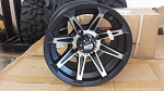"STI HD2 12"" Rim, 4/110 Matte Black Machined"