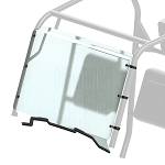 Kolpin Full Fixed Windshield with Scratch Resistant Finish for Honda Pioneer 700