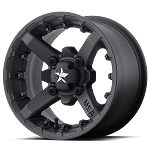 MSA M23 Battle ATV Wheels - 12 inch Flat Black