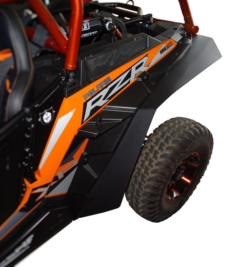 Kubota Front Fender Kit : Mudbusters max coverage fenders for polaris rzr xp