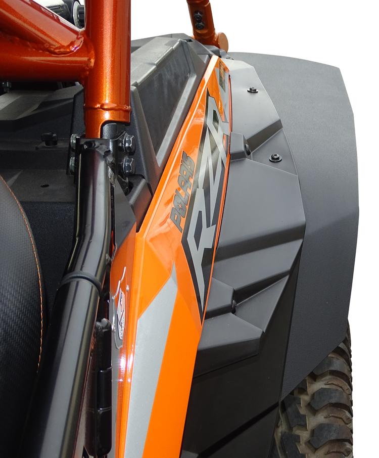 Kubota Front Fender Kit : Mudbusters mud lite fenders for polaris rzr xp