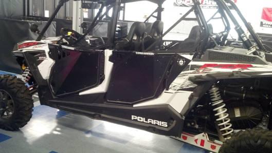 Pro Armor Aluminum Doors For The Polaris Rzr Xp 4 1000