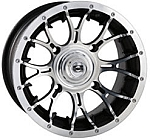 "Douglas Diablo ATV Wheels - 14"" Machined"