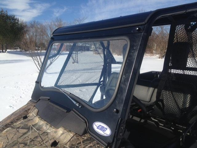 Emp Full Laminated Glass Windshield For The Honda Pioneer