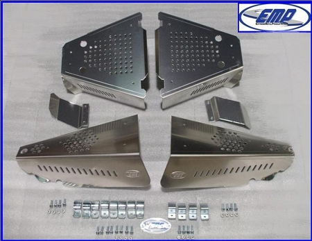 Emp Aluminum Cv Boot Guards For Polaris Ranger