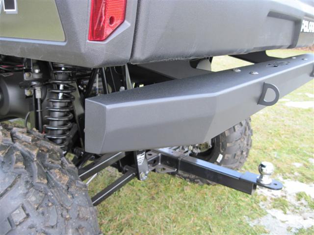 Yamaha Rhino Rear Bumper Mounting