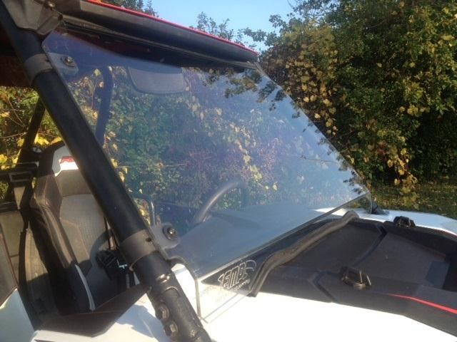Rzr 1000 Full Windshield By Extreme Metal Products