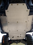 EMP RZR Full Belly Aluminum Skid Plate