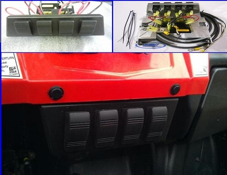 fuse block for polaris rzr by metal products