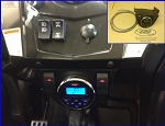 EMP Waterproof Under Dash Stereo for RZRs