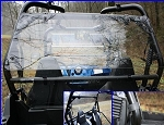 EMP Polaris RZR MR-10 Polycarbonate Rear Dust Shield