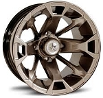 "Fairway Alloys FA131 Elixir Golf Cart Wheels - 12"" Bronze"