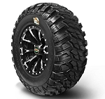 GBC Kanati Mongrel Radial ATV Tires, D.O.T.