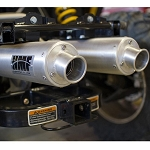 HMF Exhaust Pipe for Can Am Commander UTV - Performance Series