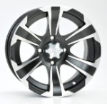 "ITP SS312 Golf Cart Wheels - 14"" Machined"