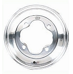 ITP T-9 Pro Series Polished ATV Wheels, 8