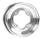 ITP A6 Polished ATV Wheels - 8 & 10 Inch