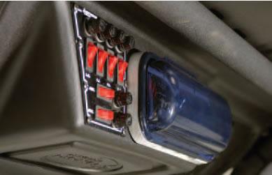 Rhino Top Stereo on Yamaha Golf Cart S