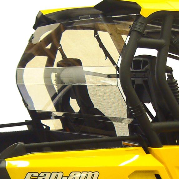 Rear windshield for can am commander by kolpin