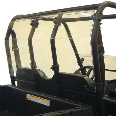 Kolpin rear utv windshield for polaris ranger mid size