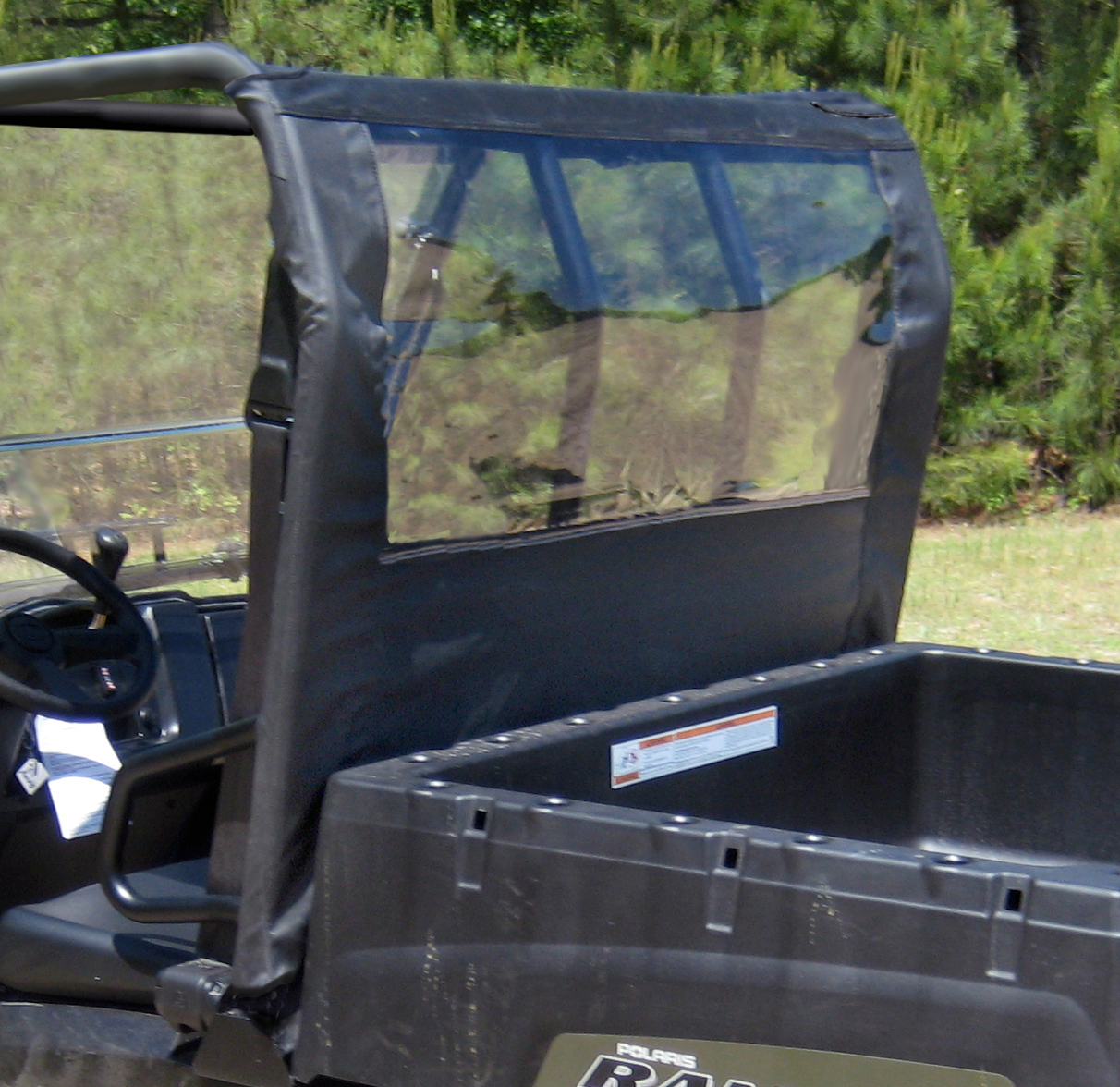 Honda Pioneer Reviews >> Seizmik Rear Dust Panel for Polaris Ranger