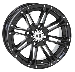 "STI HD3 ATV Wheels - 12"" Glossy Black"