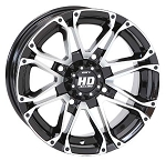 "STI HD3 ATV Wheels - 12"" Machined"