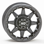STI HD5 Beadlock Wheels, 14 Inch Gunmetal Gray