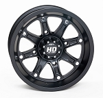 STI HD4 ATV Wheels - 12 inch Matte Black (Limited Edition)