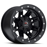 Vision 550 Five Fifty 12 Inch ATV Wheels, Matte Black