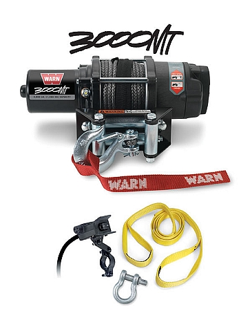 Warn 3000lb ATV Winch