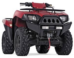 Atv Bumpers Warn Bumper For Kawasaki Brute Force Atv S