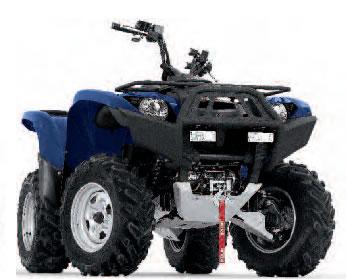 Yamaha Grizzly  Warn Bumper