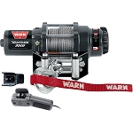 Warn Vantage 3000 lb Wire Rope Winch (Warn 89030)