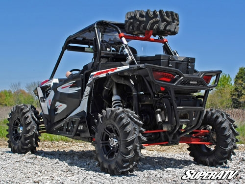 Super Atv Spare Tire Carrier For Polaris Rzr Xp 1000
