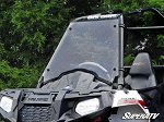 Super ATV Scratch Resistant Full Windshield for Polaris Sportsman Ace