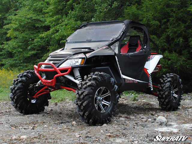 6 Inch Lift Kit For Arctic Cat Wildcat By Super Atv