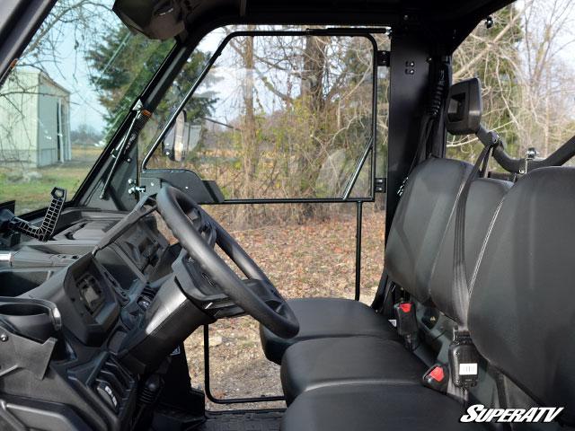 Super Atv Full Cab Enclosure Doors For Can Am Defender