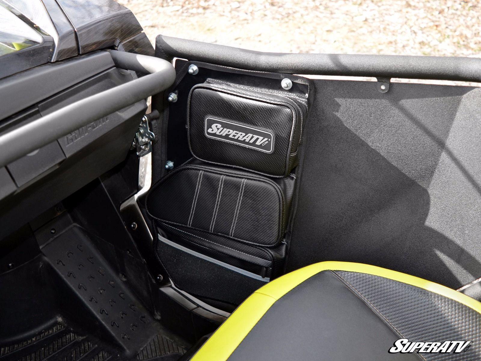 Commander/Maverick Door Bag & Super ATV Door Bags for Can-Am Commander / Maverick